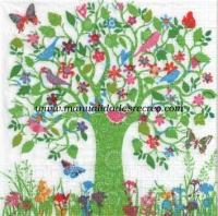 Servilleta Árbol de la vida - Paquete servilletas Árbol de la vida