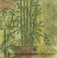 Paquete servilletas Bambú