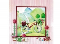 Paquete servilletas Bici