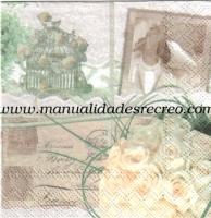 Paquete de servilletas, Boda