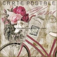 Paquete servilletas, Carte postale - Paquete de servilletas decorativas, Carte postale