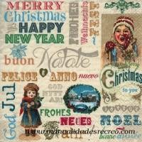 Servilleta navidad christmas - Paquete de servilletas decoradas de navidad