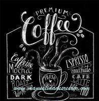 Paquete de servilletas, Coffee premium - Paquete de servilletas decorativas, Café