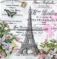 Paquete de servilletas, Eiffel