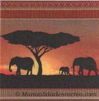 Paquete servilletas Etnica - Paquete de servilletas decorativas
