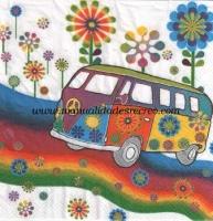 Paquete Servilletas Hippy - Paquete de servilletas decorativas