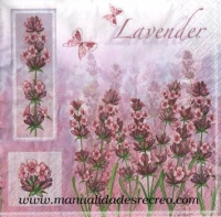 Paquete de servilletas, Lavender