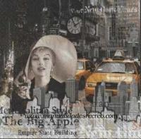 Paquete servilletas New york