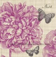 Paquete de servilletas, Peonia - Paquete servilletas flor peonia