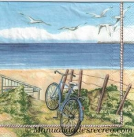 Paquete de servilletas Playa