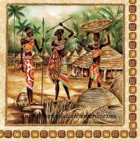 Paquete de servilletas, Tribu - Paquete de servilletas decorativas, Tribu