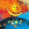 Paquete de servilletas, Sol y luna
