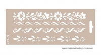 Plantilla starcir, Cenefas 25 x 10