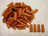 07 Tejas 5cm Bolsa de 100 unidades - Teja en miniatura, 5cm de largo