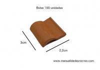 04 Teja romana 100 undades - Teja en miniatura romana