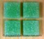 Tesela vitrea Verde claro 200g - Tesela de mosaico, verde claro