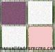 Tesela vitrea surtido rosado  200g - Tesela de mosaico, surtido rosado