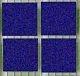 Tesela vitrea ultramar  200g - Tesela mosaico, Azul fuerte