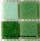 Tesela vitrea Surtido verdes 200g - Tesela de mosaico, Surtido en verdes