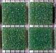 Tesela vitrea verde 200g - Tesela de mosaico, verdes