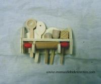 Portacubiertos miniatura -