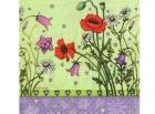 Paquete de servilletas Amapolas - Paquete de servilletas decorativas, Campo amapolas