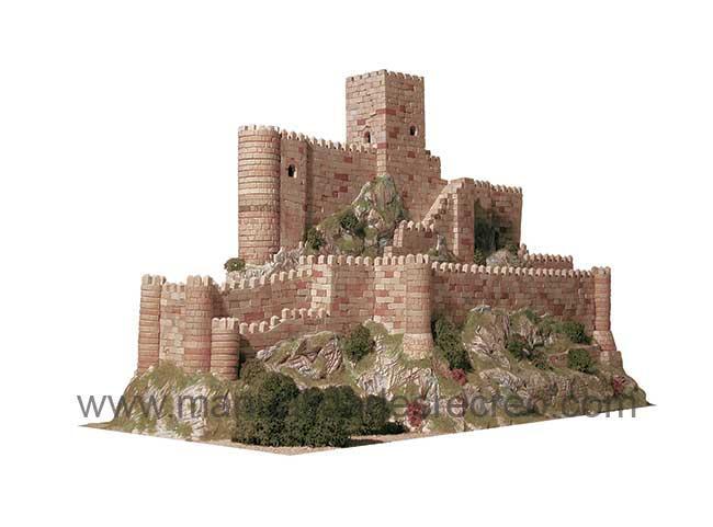 Castillo de Almansa , Maqueta - Kit de maqueta para hacer el castillo de Almansa