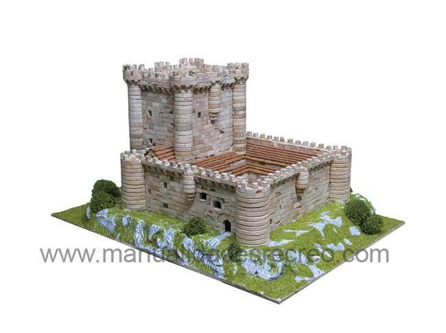 Maqueta de castillo - Castillo de Fuensaldaña en kit para construir