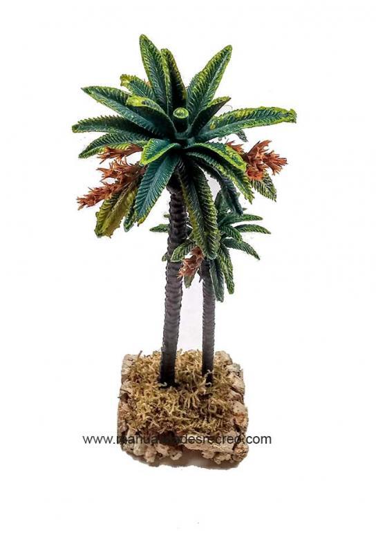 Conjunto dos palmeras - Conjunto de dos palmeras en miniatura