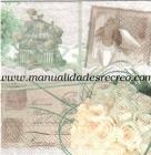 Paquete de servilletas, Boda - Paquete de servilletas decorativas, Boda