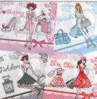 Paquete de servilletas Moda - Paquete de servilletas decorativas, Moda