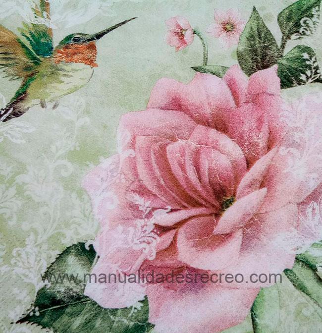Paquete de servilletas, Rosa - Paquete de servilletas decorativas, Rosa