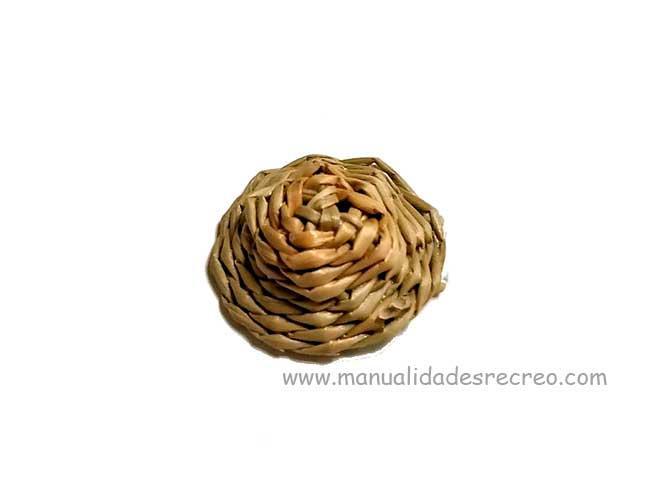 Sombrero de paja - Sombrero de paja en miniatura