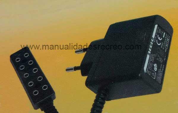 Transformador luz 3,2V a 4,5V - Transformador de luz para belenes de 3,2V a 4,5V