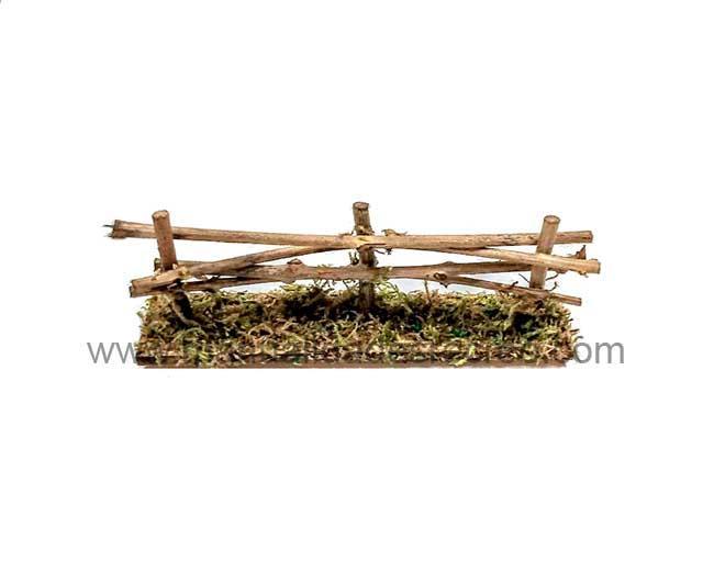 Cerca o valla de maderas