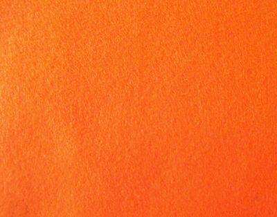 Fieltro Naranja 45cm x 30cm x 1mm de grosor -